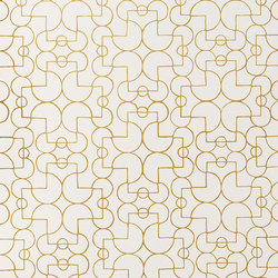Arcade⎟gold | Wall coverings | Hygge & West