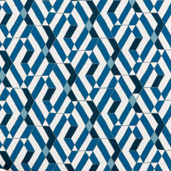Quilt⎟blue | Wall coverings / wallpapers | Hygge & West