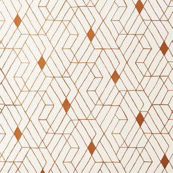 Quilt⎟copper | Wall coverings / wallpapers | Hygge & West