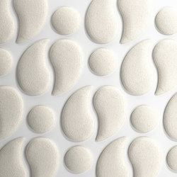Woolbubbles® Waterfall | Paneles de pared | Wobedo Design