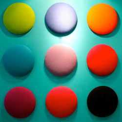 Woolbubbles® Dot times nine small | Pannelli per parete | Wobedo Design