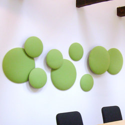 Woolbubbles® Green Medicine | Sound absorbing wall systems | Wobedo Design