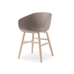 Maya omc beige grey | Visitors chairs / Side chairs | Softline - 1979