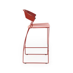 Juliette kitchen stool | Bar stools | Baleri Italia by Hub Design
