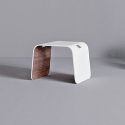 Dressage - Stool in solid wood and Corian® | Hocker | Graff