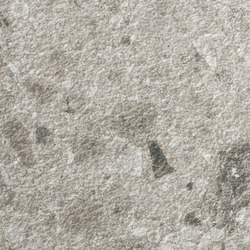 Iseo iTOPKer Gris Bush-hammered | Ceramic panels | INALCO