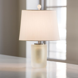 Ombre Bollo Champagne Frost | Luminaires de table | Cartwright New York