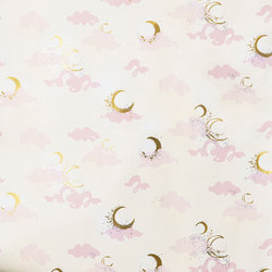 Moons⎟blush | Carta da parati | Hygge & West