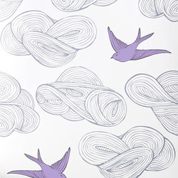 Daydream⎟lilac | Wall coverings / wallpapers | Hygge & West