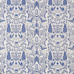 Nethercote⎟blue | Wall coverings | Hygge & West