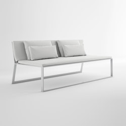 Blau Sofá Modular 4 | Sofás de jardín | GANDIABLASCO