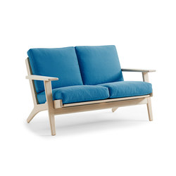 GE 290 2-Seater Couch | Canapés d'attente | Getama Danmark