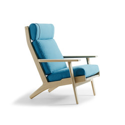 GE 290A High Back Easy Chair | Loungesessel | Getama Danmark