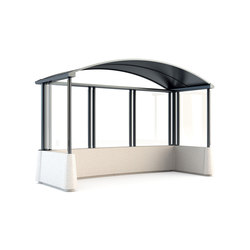Magnum Bus Shelter | Bus stop shelters | Bellitalia