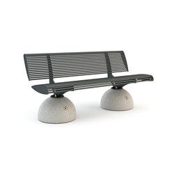Zebra Lineare Bench | Exterior benches | Bellitalia