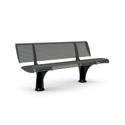 Zebra Fixed Bench | Exterior benches | Bellitalia