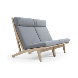 GE 375 High Back Easy Chair | Bancs d'attente | Getama Danmark