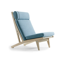 GE 375 High Back Easy Chair | Loungesessel | Getama Danmark