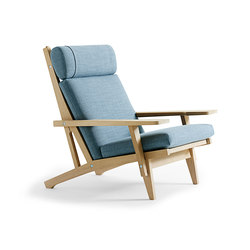 GE 375 High Back Easy Chair | Sillones lounge | Getama Danmark