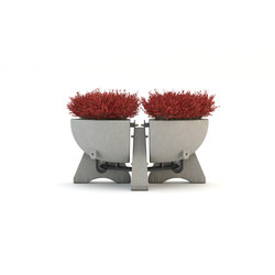 B-Swing 180° Planter | Fioriere | Bellitalia