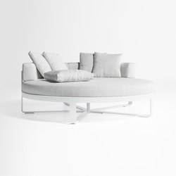 Flat circular Bed | Seating islands | GANDIABLASCO