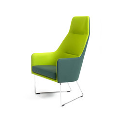 1201 Easy chair high back | Poltrone lounge | Getama Danmark
