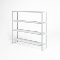 Flat Estantería | Shelves | GANDIABLASCO