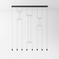 Wireflow Lineal 0340 Pendant lamp | General lighting | Vibia