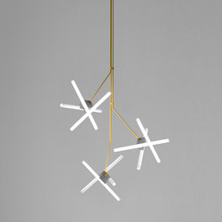 Olvidada Triple Ceiling Lamp | General lighting | BD Barcelona