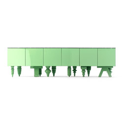Showtime 10 Multileg Cabinet | Buffets / Commodes | BD Barcelona