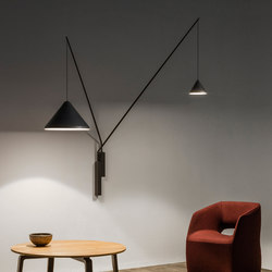 North Wall lamps | General lighting | Vibia