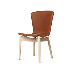Shell Dining Chair | Dunes Rust | Sillas para restaurantes | Mater