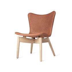 Shell Lounge Chair - Dunes Rust - Mat Lacquered Oak   Armchairs   Mater