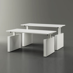 Height adjustable tables | Escritorios individuales | Fantoni
