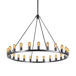 Spark 60 Modern Chandelier | Ceiling suspended chandeliers | Niche