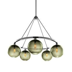 Solitaire Modern Chandelier | Ceiling suspended chandeliers | Niche