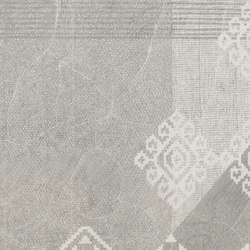 Gesso Decoro Patchwork Pearl Grey | Ceramic tiles | EMILGROUP