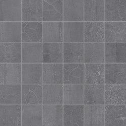 Gesso Mosaico 5X5 Black Velvet | Ceramic mosaics | EMILGROUP