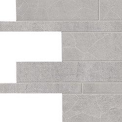 Gesso Listelli Sfalsati Pearl Grey | Mosaici | EMILGROUP