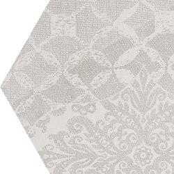 Gesso Esagona Patchwork Natural White | Ceramic mosaics | EMILGROUP
