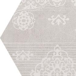Gesso Esagona Patchwork Natural White | Mosaicos | EMILGROUP