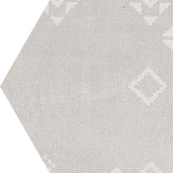 Gesso Esagona Patchwork Natural White | Mosaici | EMILGROUP
