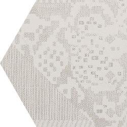 Gesso Esagona Patchwork Natural White | Keramik Mosaike | EMILGROUP