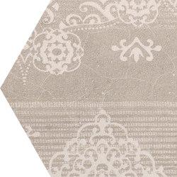 Gesso Esagona Patchwork Taupe Linen | Mosaike | EMILGROUP