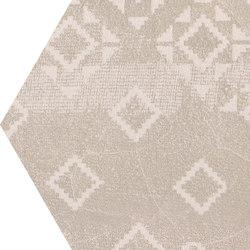 Gesso Esagona Patchwork Taupe Linen | Mosaici | EMILGROUP