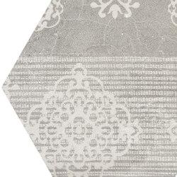 Gesso Esagona Patchwork Pearl Grey | Keramik Mosaike | EMILGROUP