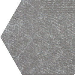 Gesso Esagona Patchwork Black Velvet | Mosaici | EMILGROUP