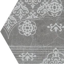 Gesso Esagona Patchwork Black Velvet | Keramik Mosaike | EMILGROUP