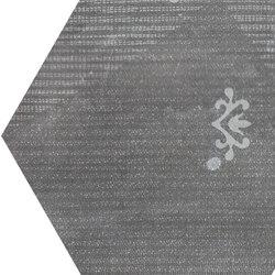 Gesso Esagona Patchwork Black Velvet | Ceramic mosaics | EMILGROUP