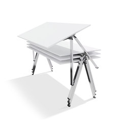 yuno stacking table | Mesas contract | Wiesner-Hager